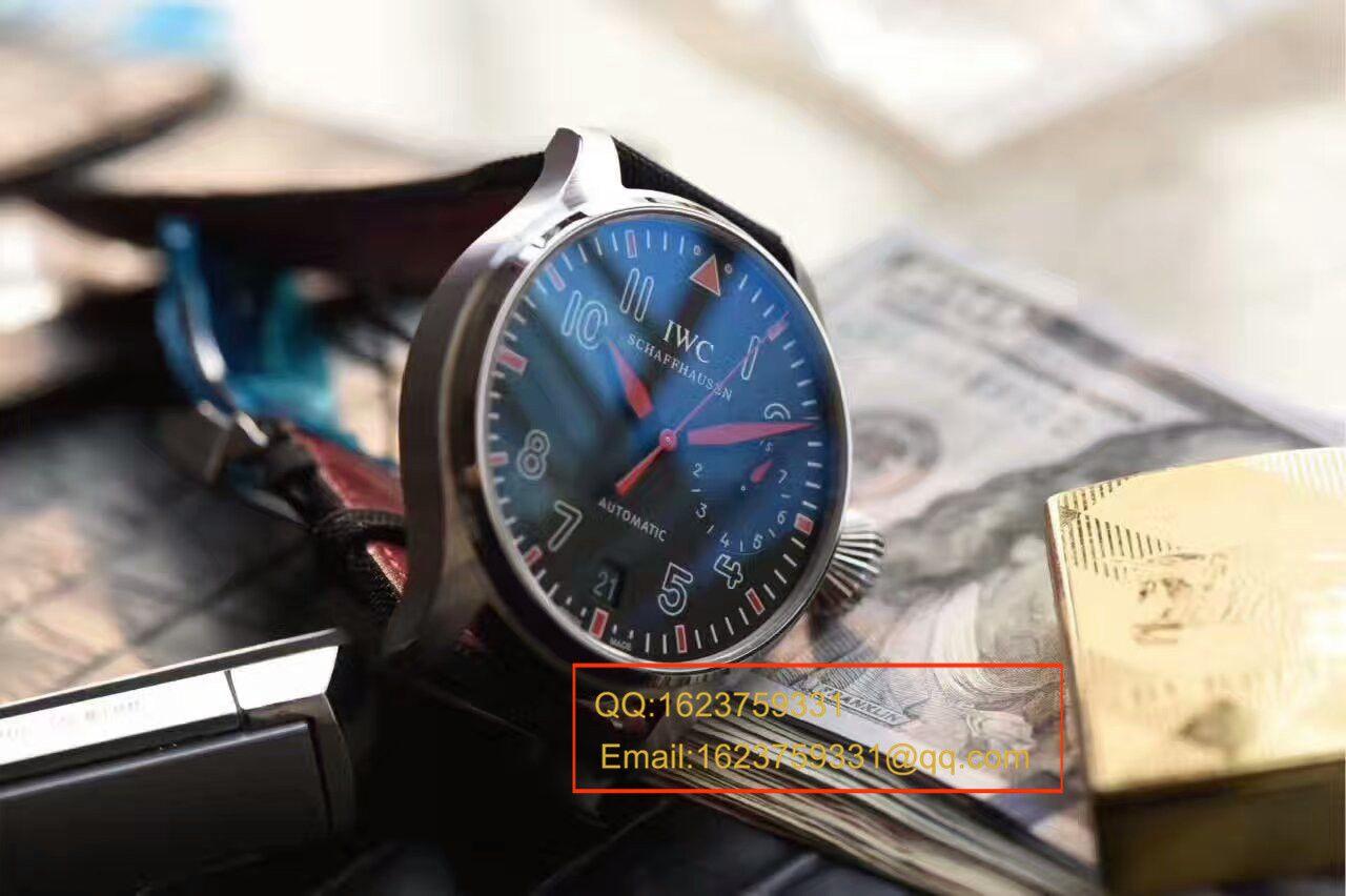 """【ZF厂顶级复刻手表】万国大型飞行员系列大把头""""穆罕默德·阿里""""特别版 IW500435腕表"""