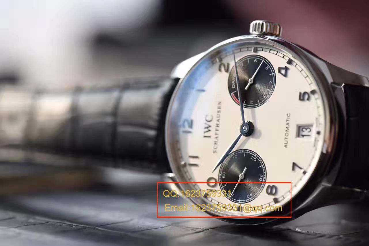 【ZF一比一超A高仿手表】万国葡七最高版本新面孔白面黑眼(熊猫葡七)腕表