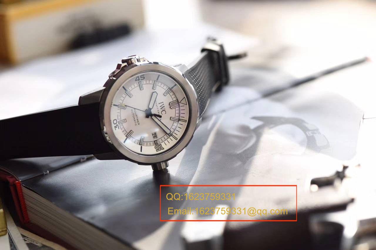 【独家视频测评HBBV6厂1:1超A高仿手表】万国IWC 海洋时计系列 IW376801 男士机械手表