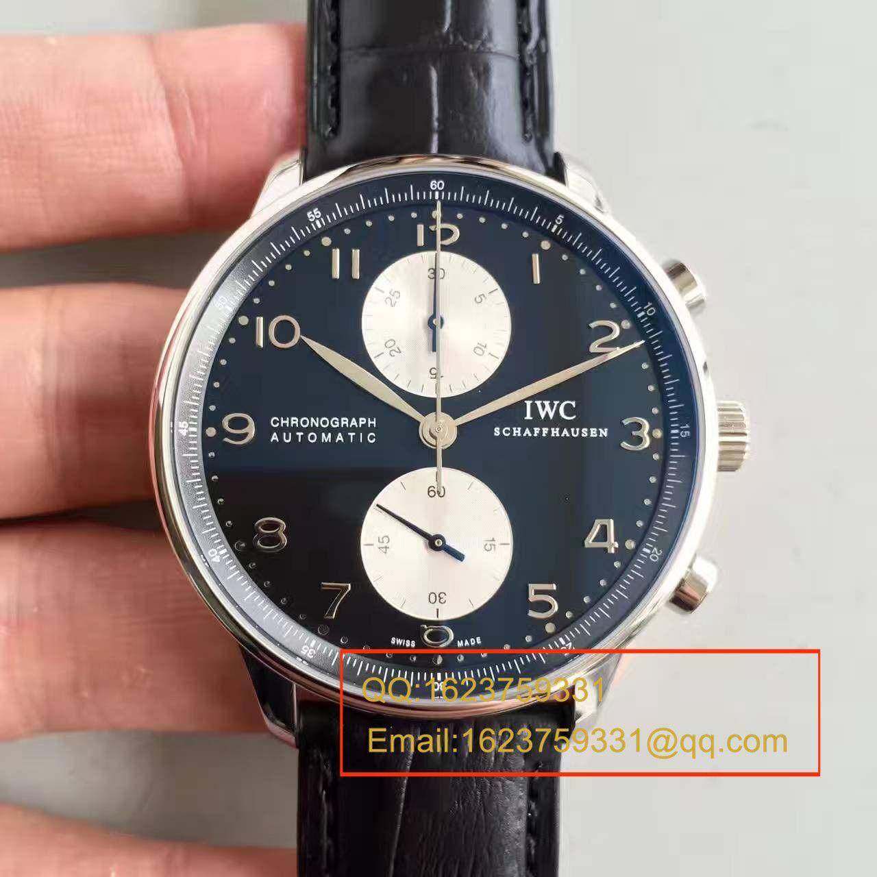 【ZF厂一比一精仿手表】万国葡萄牙系列葡计超薄升级版IW371404腕表 / WG096