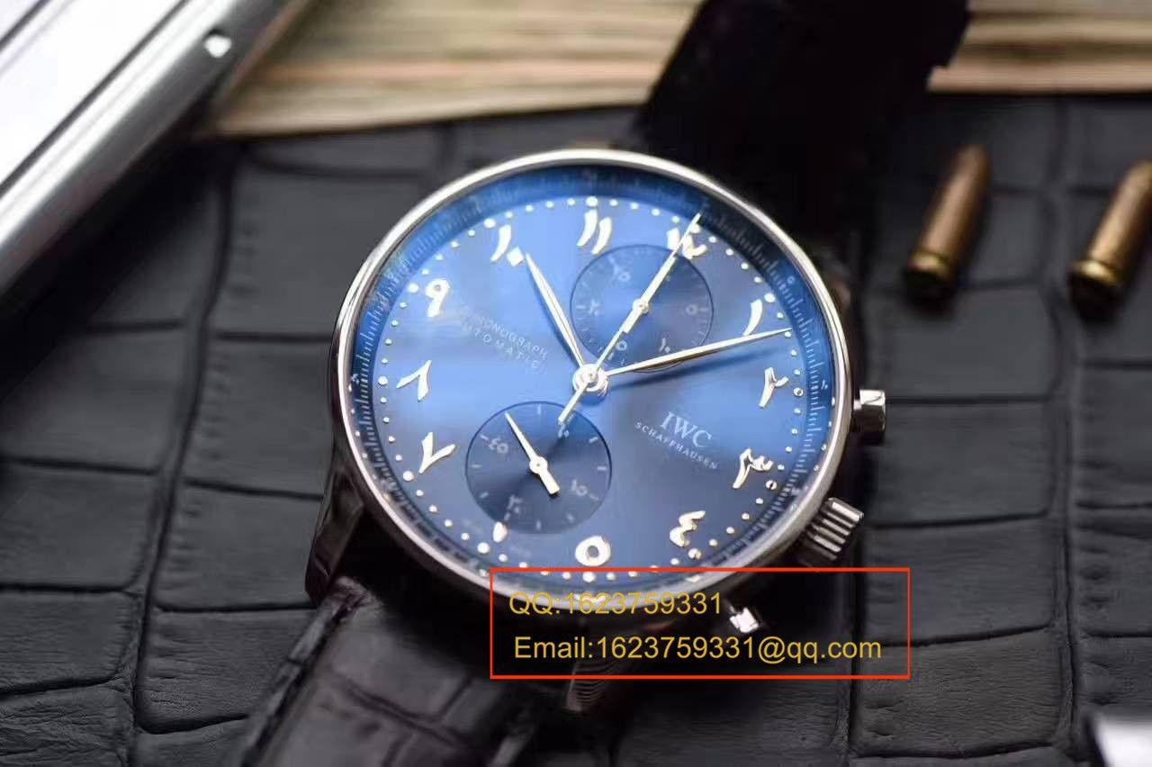 【YL厂最高品质】万国阿联酋迪拜限量版葡萄牙计时腕表 / WG291