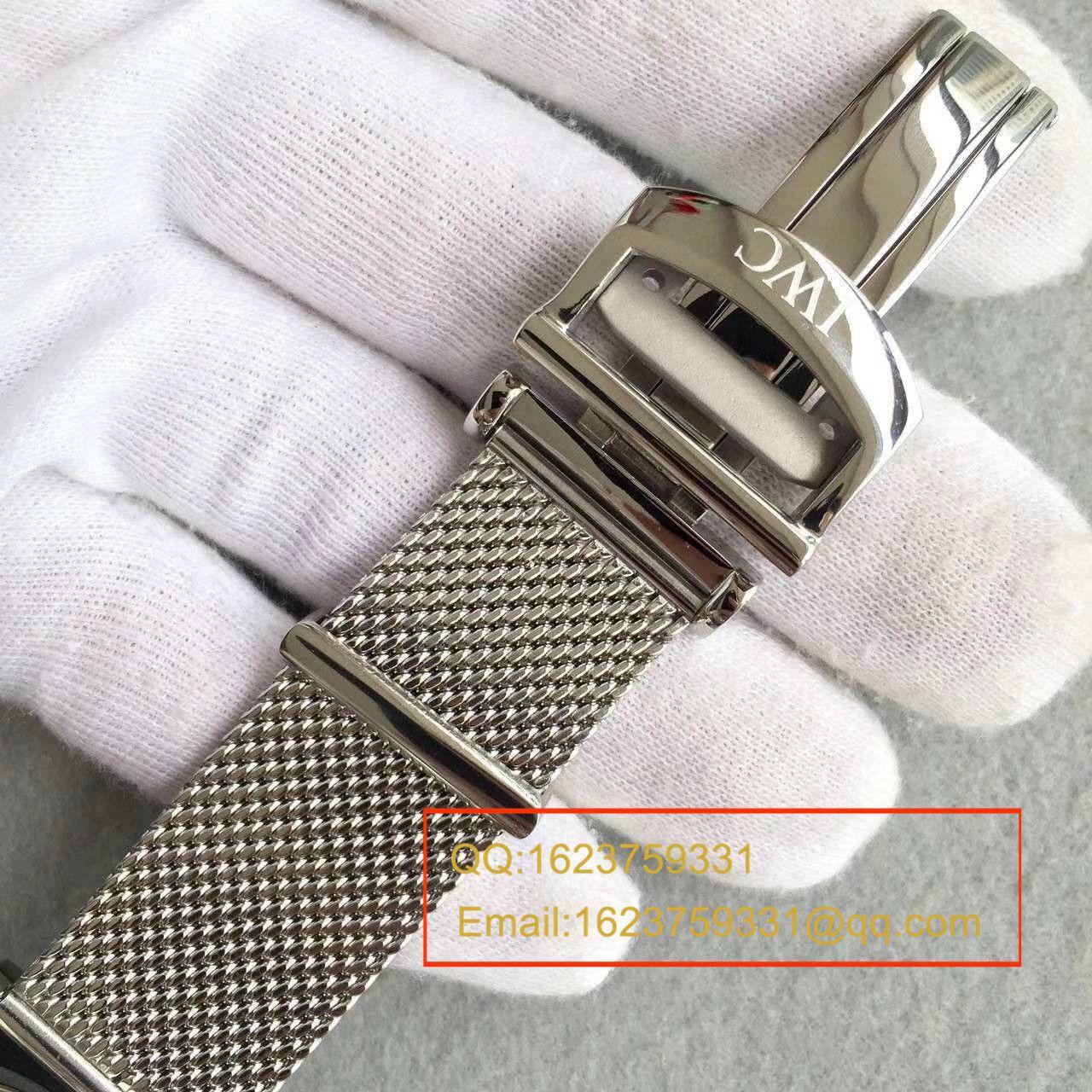 【MKS厂顶级复刻手表】万国柏涛菲诺CHRONOGRAPH计时系列 IW391009腕表 / WB0133