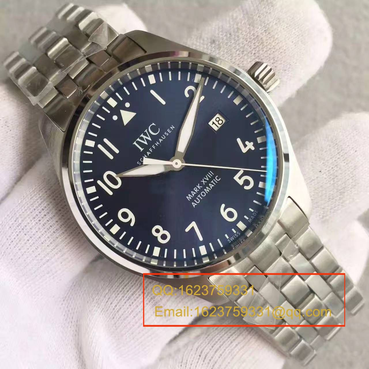 【独家视频测评MK厂1:1顶级精仿手表】万国飞行员马克十八飞行员腕表系列IW327011腕表 / WG243