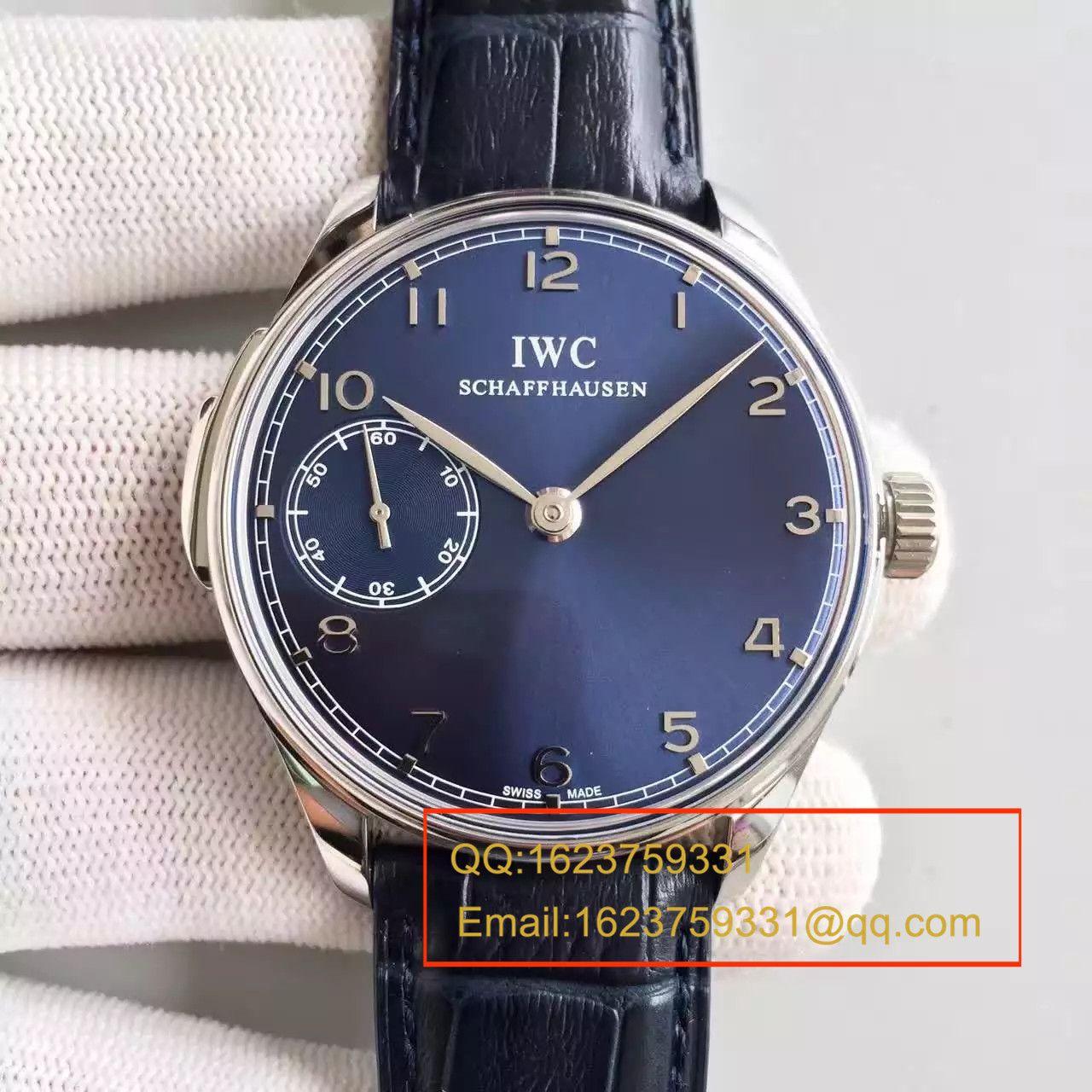 【YL厂顶级复刻手表】万国葡萄牙系列IW524204《万国三问》腕表 / WG235