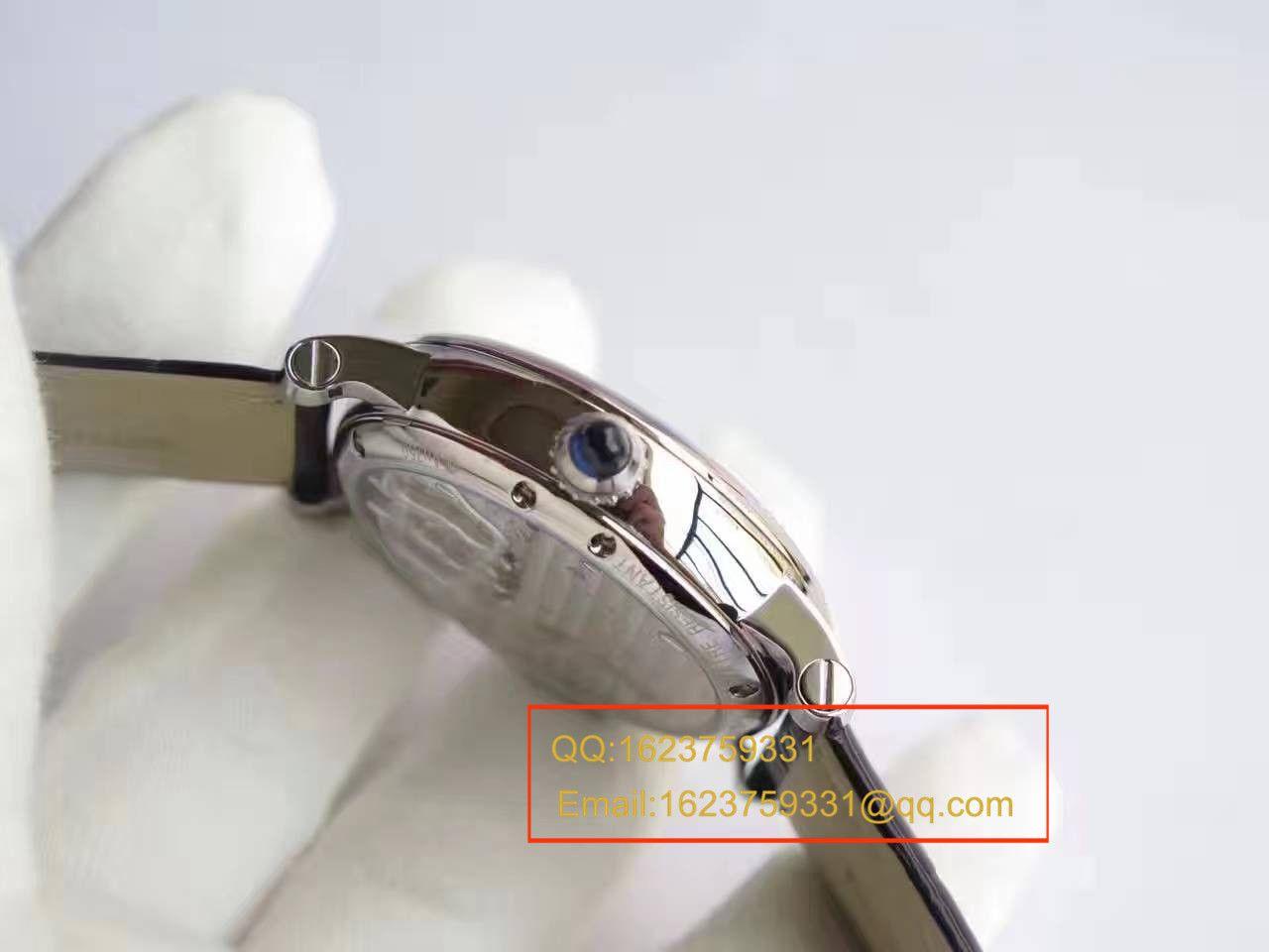 【BL厂一比一精仿手表】卡地亚ROTONDE DE CARTIER系列W1556216陀飞轮腕表