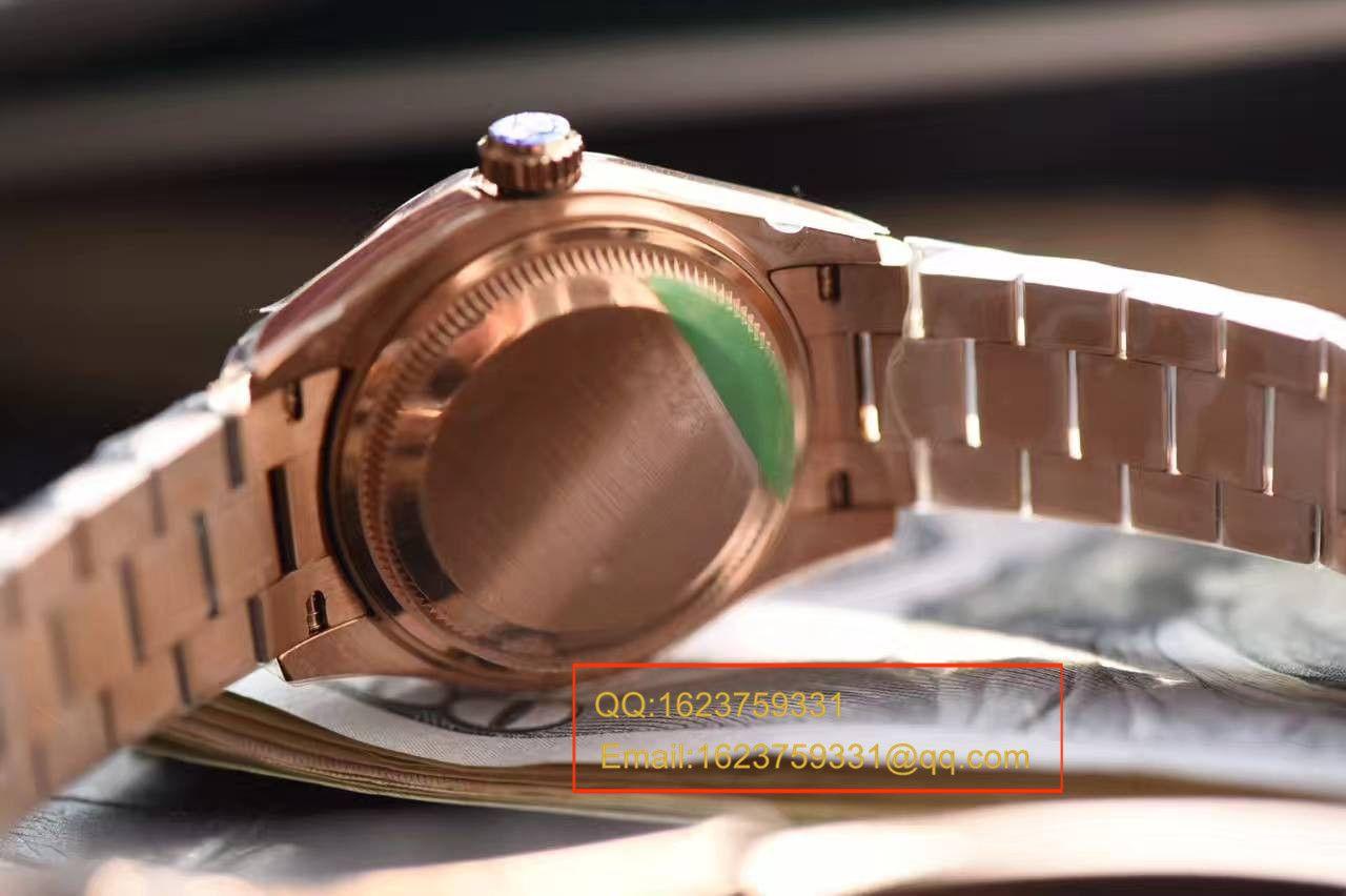 【SY厂一比一超A高仿手表】劳力士女装日志型系列279171巧克力色表盘女士腕表 / RBA182