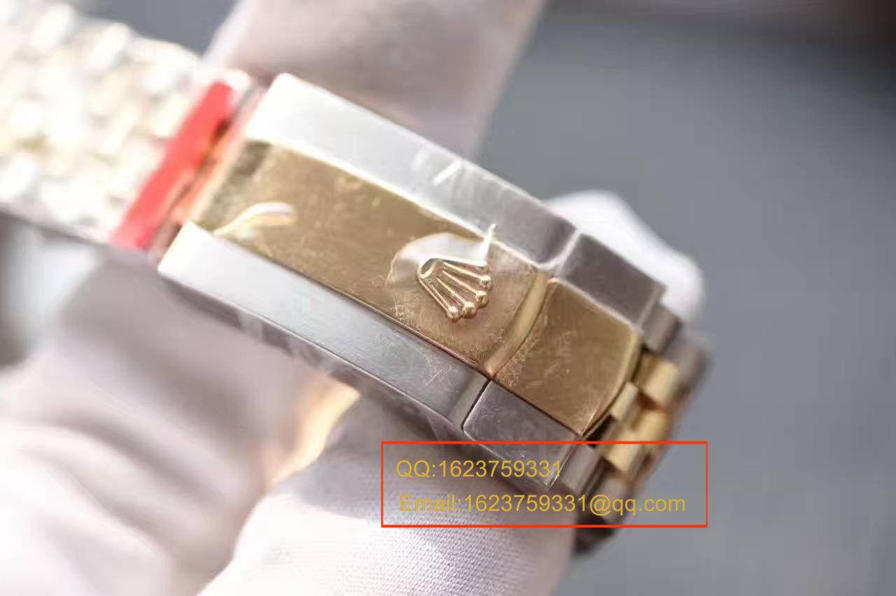 【NOOB厂1:1超A高仿手表】劳力士日志型系列126303白盘腕表 包18K真金