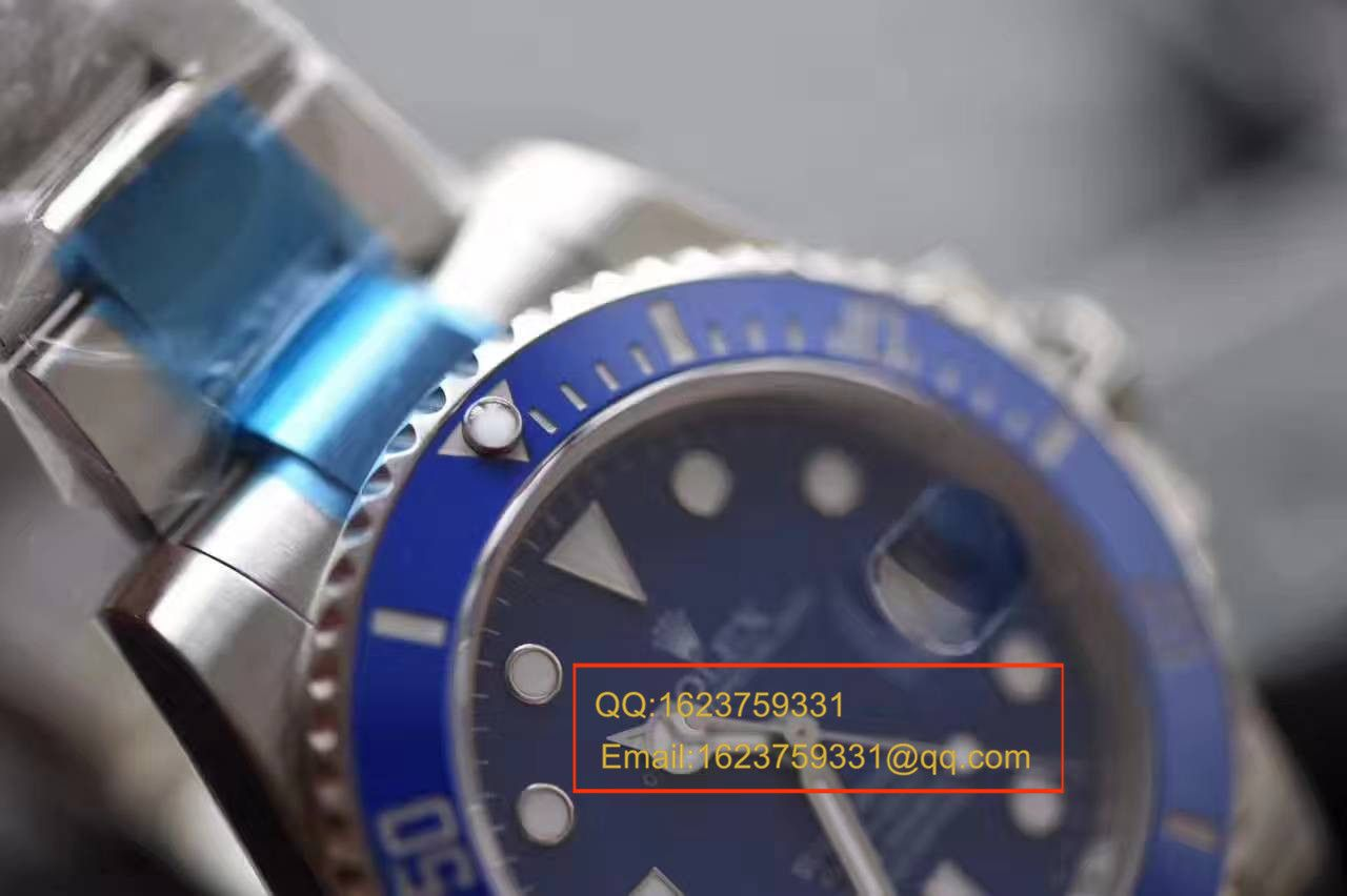【NOOB厂1:1精仿手表V7版本】劳力士潜航者型系列116619LB-97209 蓝水鬼 / RBC004