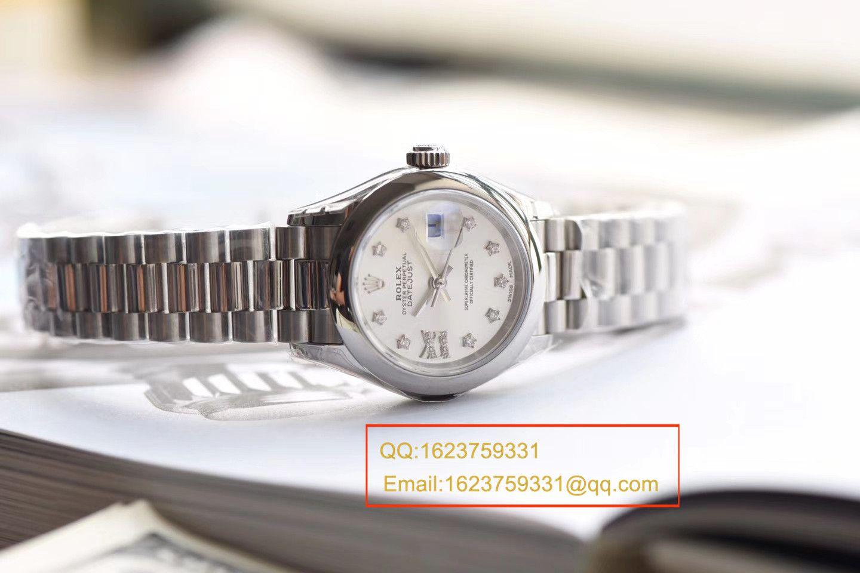 【SY1:1复刻女表】劳力士女装日志型 279163女士机械腕表《两色表盘可选》 / R154