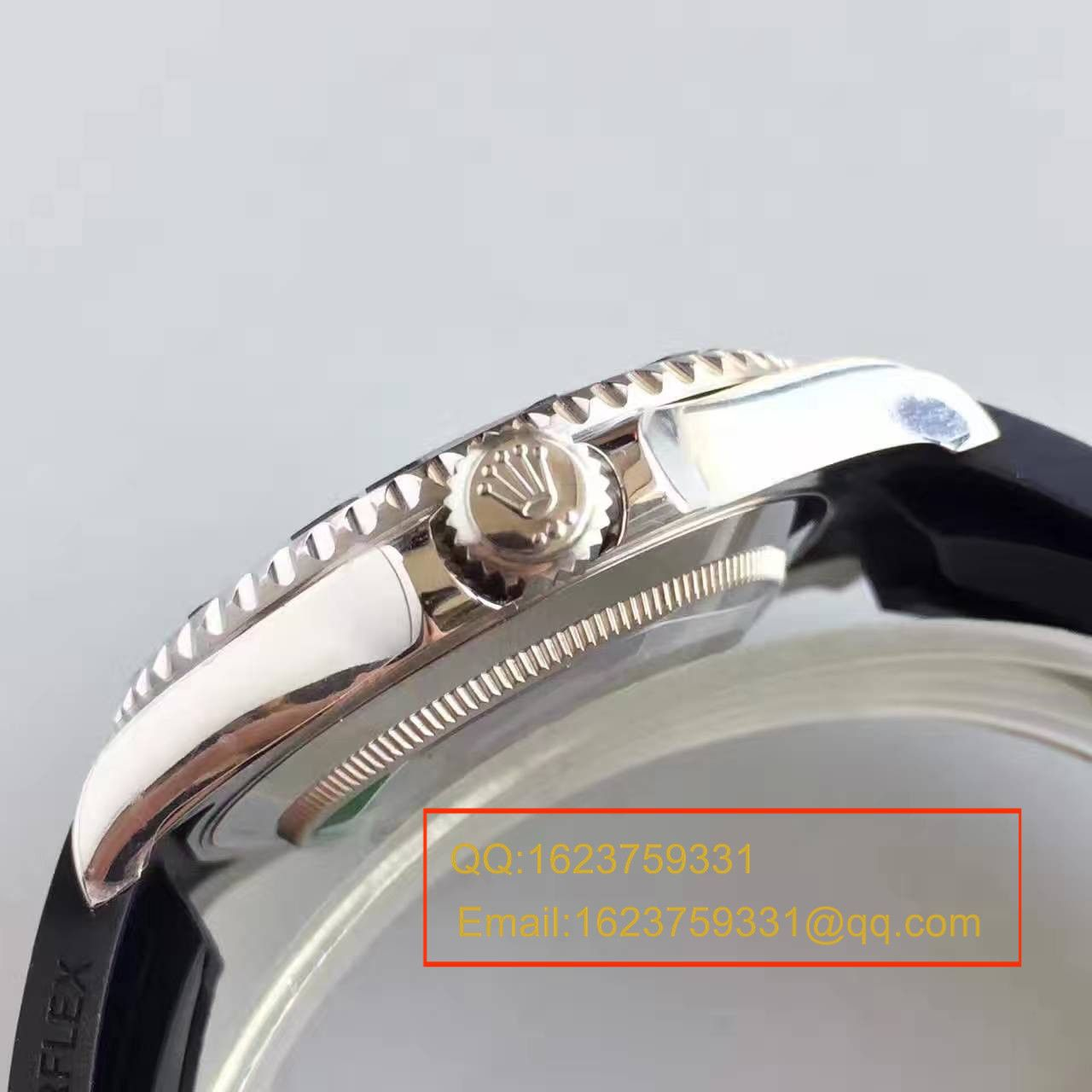 【JF厂一比一复刻手表】劳力士游艇名仕型系列116655精钢男士机械腕表 / R136