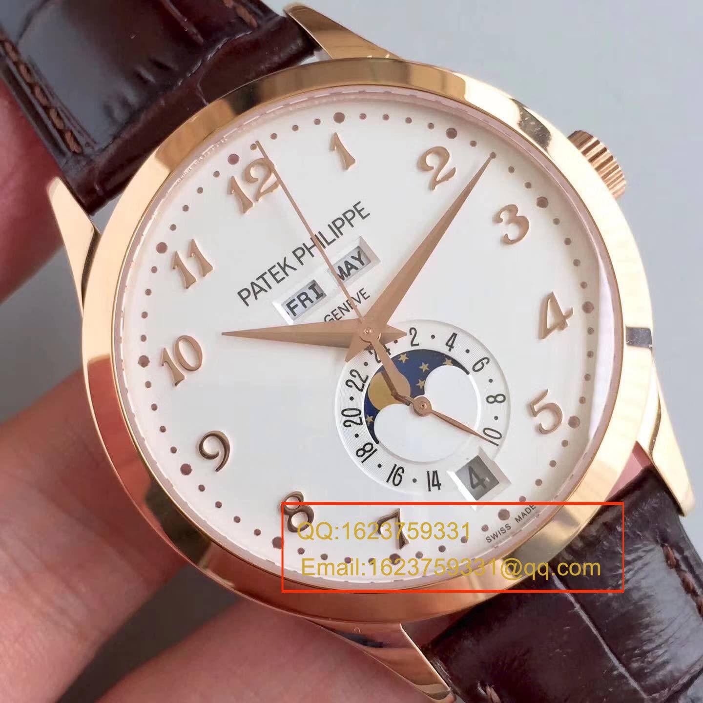 【台湾厂顶级复刻手表】百达翡丽复杂功能计时系列5396R-012月相腕表 / BD208