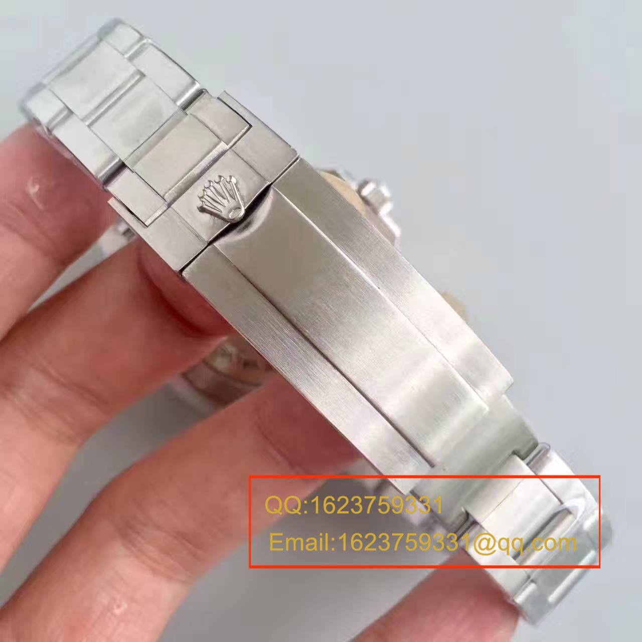 【N厂一比一复刻手表】劳力士V7特别版 美国殿堂级街头品牌SUPREME,与Rolex推出的订制版 / R026