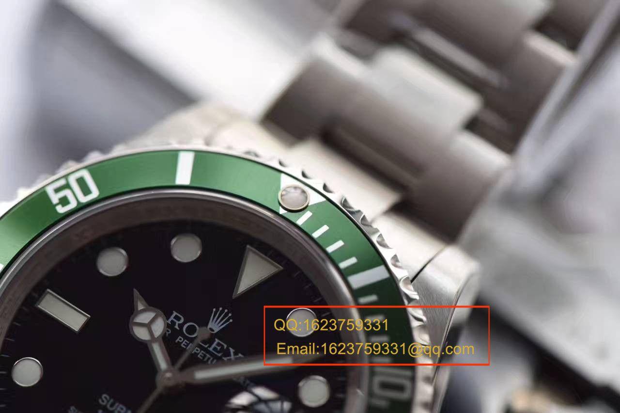 【JF厂一比一复刻手表】劳力士潜航者型系列16610LV-93250腕表第四代老款复古绿水鬼 / RBE173