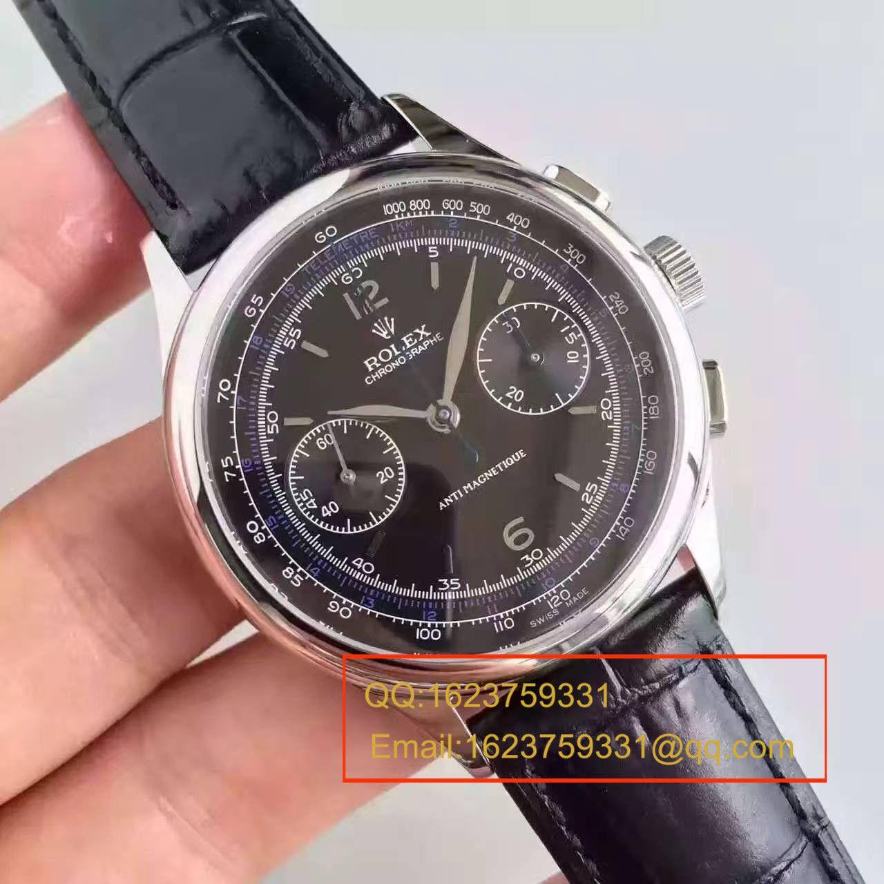 【台湾厂1:1复刻手表】劳力士复古款多功能手动计时腕表 / R134