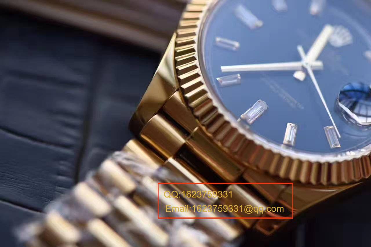 【台湾厂顶级复刻腕表】劳力士星期日历型系列228238黑色表盘 / RBA176