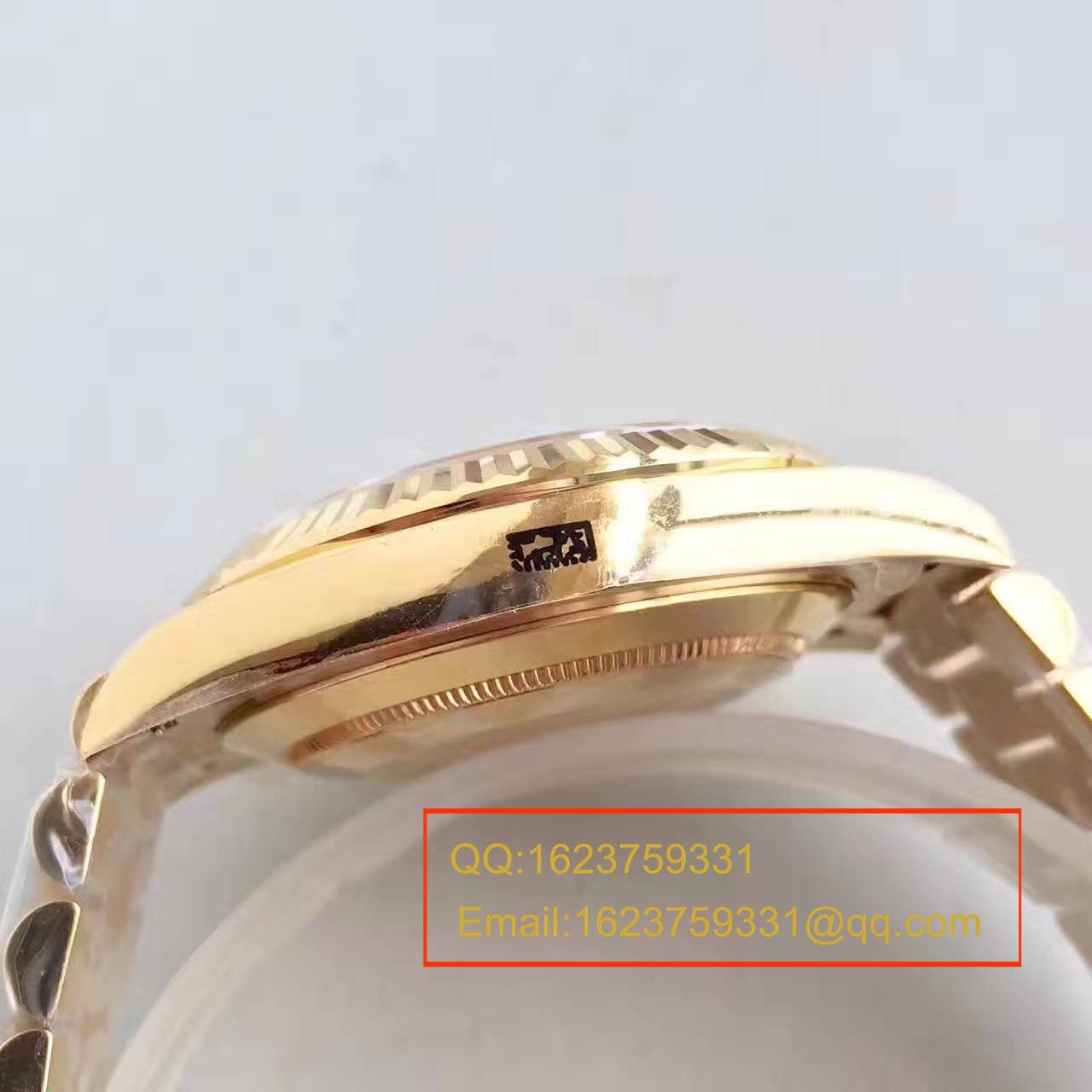 【NOOB厂一比一复刻手表】劳力士星期日历型系列218238-83218 白盘腕表 / RBE167