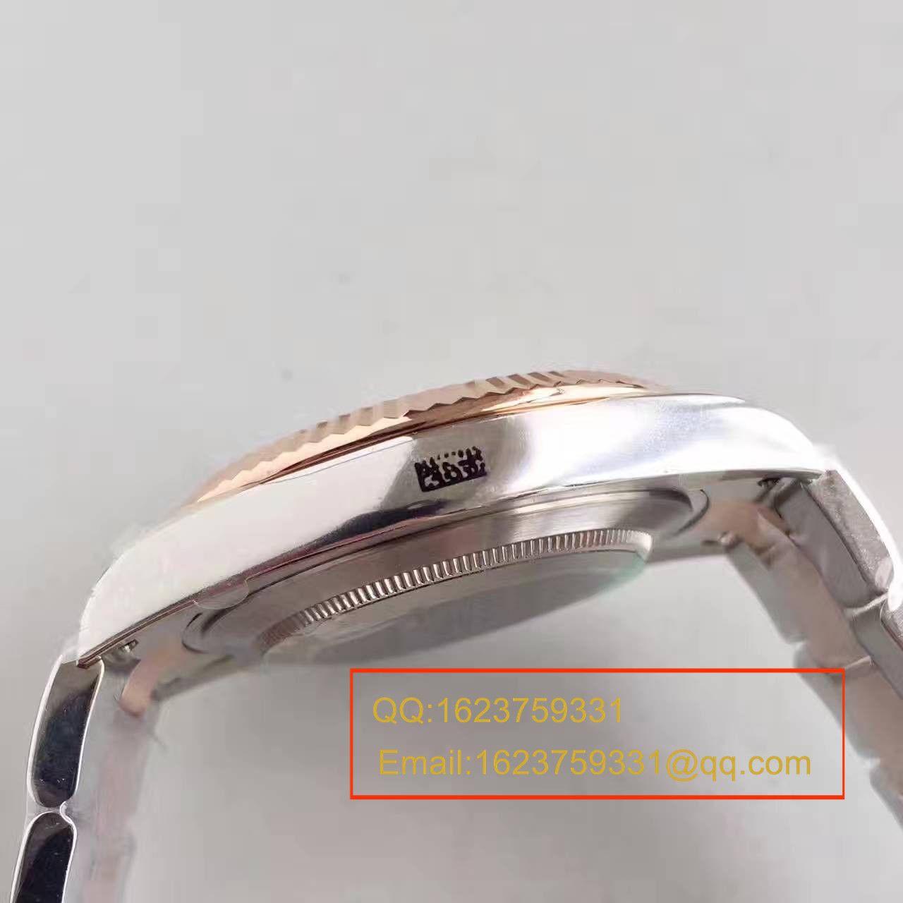 【NOOB厂1:1顶级复刻手表】劳力士日志型系列126331巧克力盘镶钻腕表 / R161