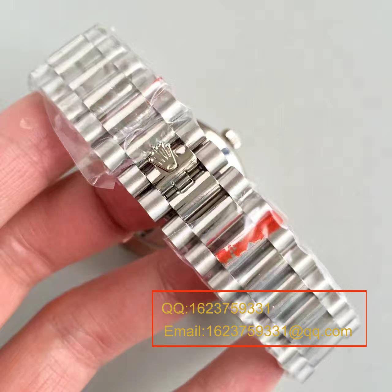 【N厂一比一超A高仿手表】劳力士星期日历型系列228239绿盘腕表 / RBE065