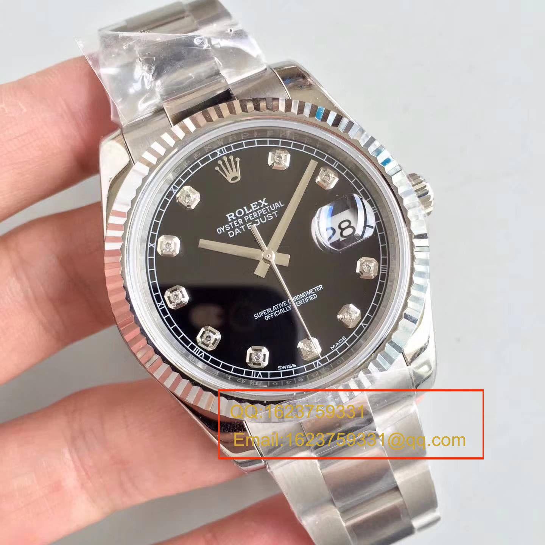 【N厂1:1复刻手表】劳力士日志型系列116334-72210 G腕表 / RBD075