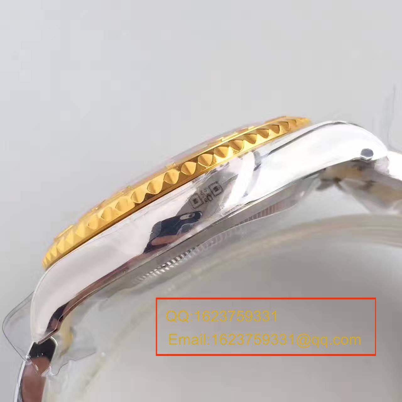 【JF厂一比一超A高仿手表】劳力士游艇名仕型系列168623-78753 香槟色表盘腕表 / RBc098