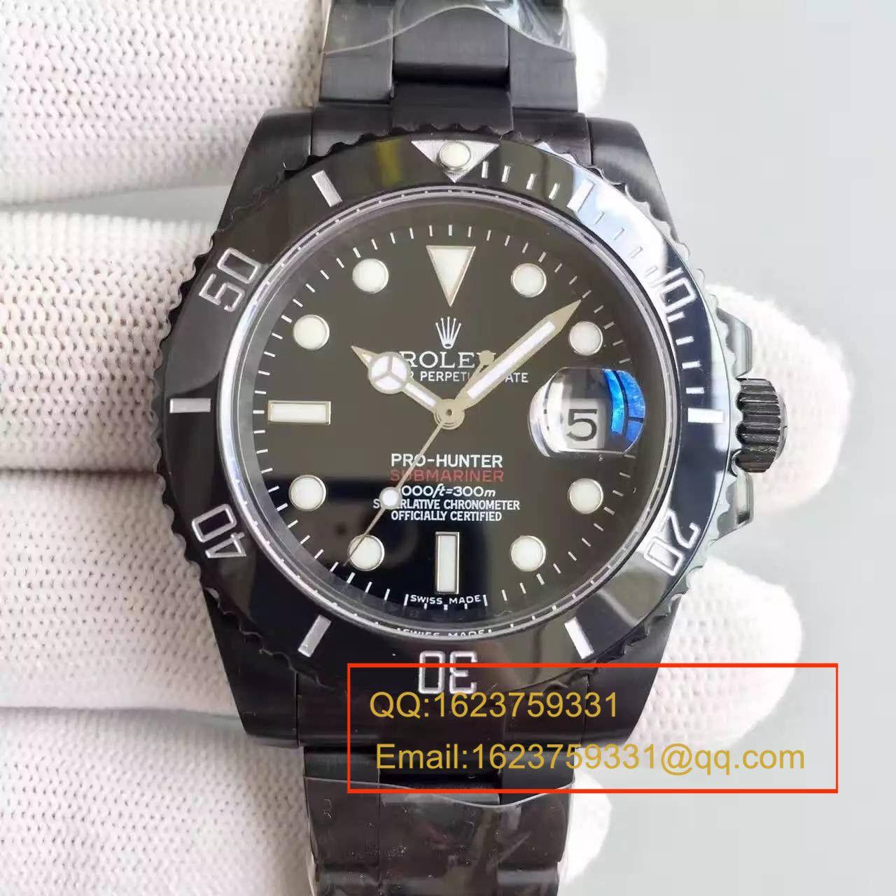 【SF厂精品】劳力士Rolex经典款Submariner,PVD特别版 1:1 超级版 / R059