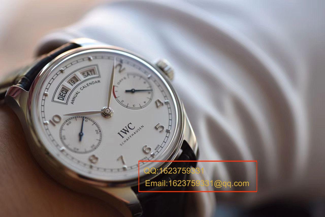 【YL厂一比一超A复刻手表】万国葡萄牙年历腕表系列IW503501万国年历腕表 / WG305