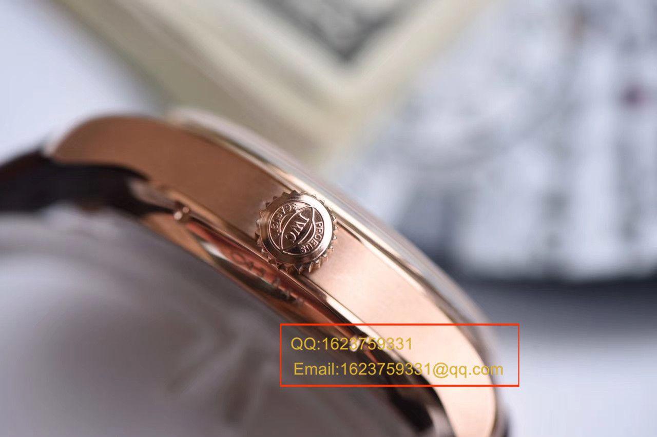 【YL厂一比一超A高仿手表】万国葡萄牙年历腕表系列IW503504万国年历玫瑰金腕表