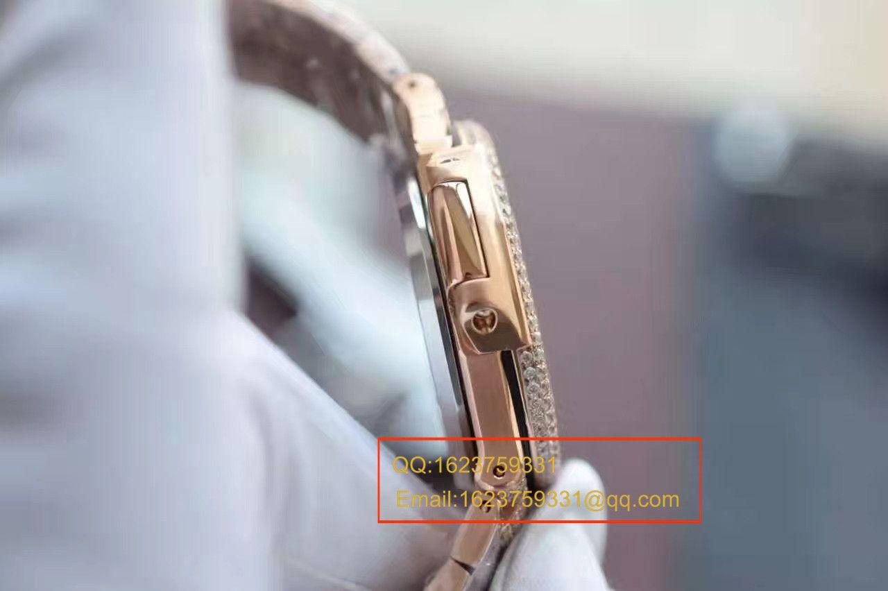 【DM厂一比一超A高仿手表】百达翡丽鹦鹉螺满天星土豪款腕表