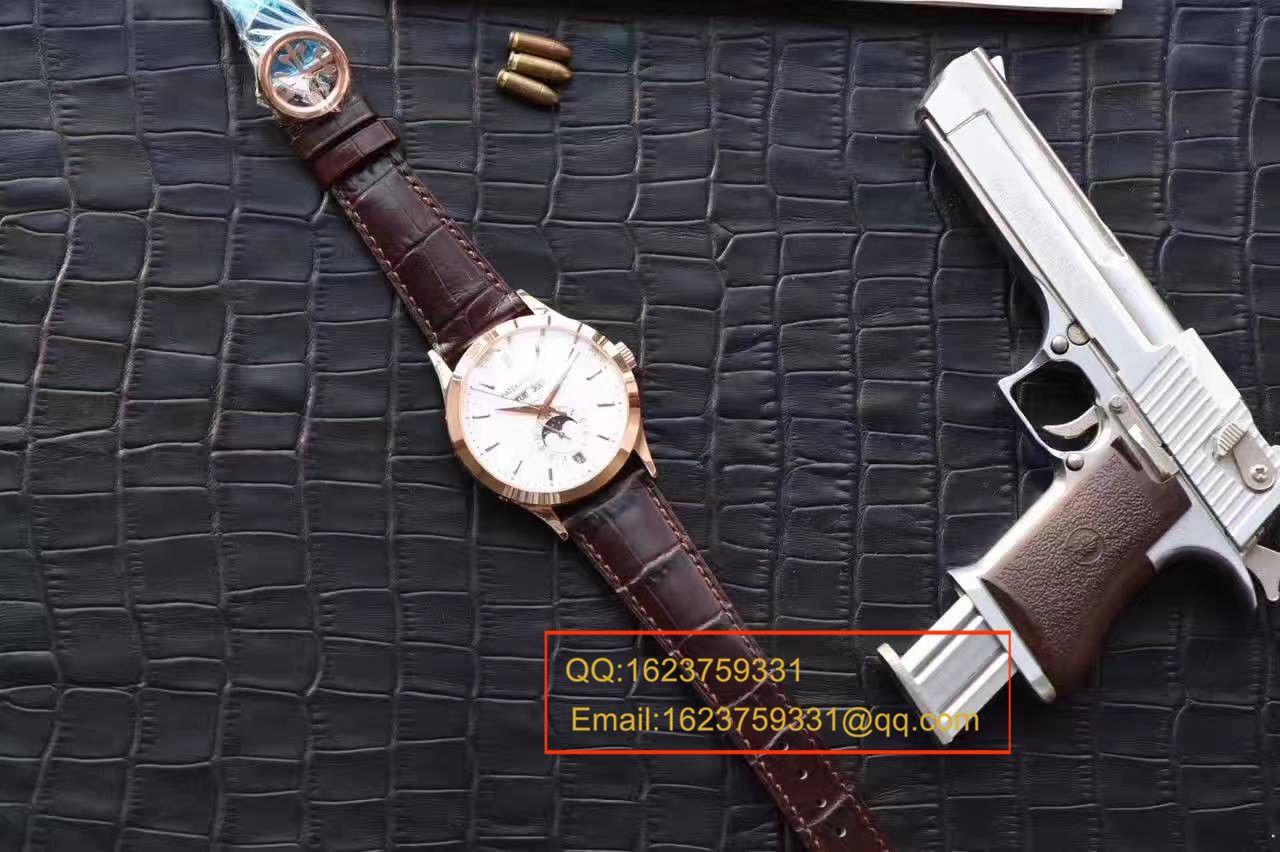 【台湾厂一比一顶级高仿手表】百达翡丽复杂功能计时系列5396R 玫瑰金腕表 / BDBD169