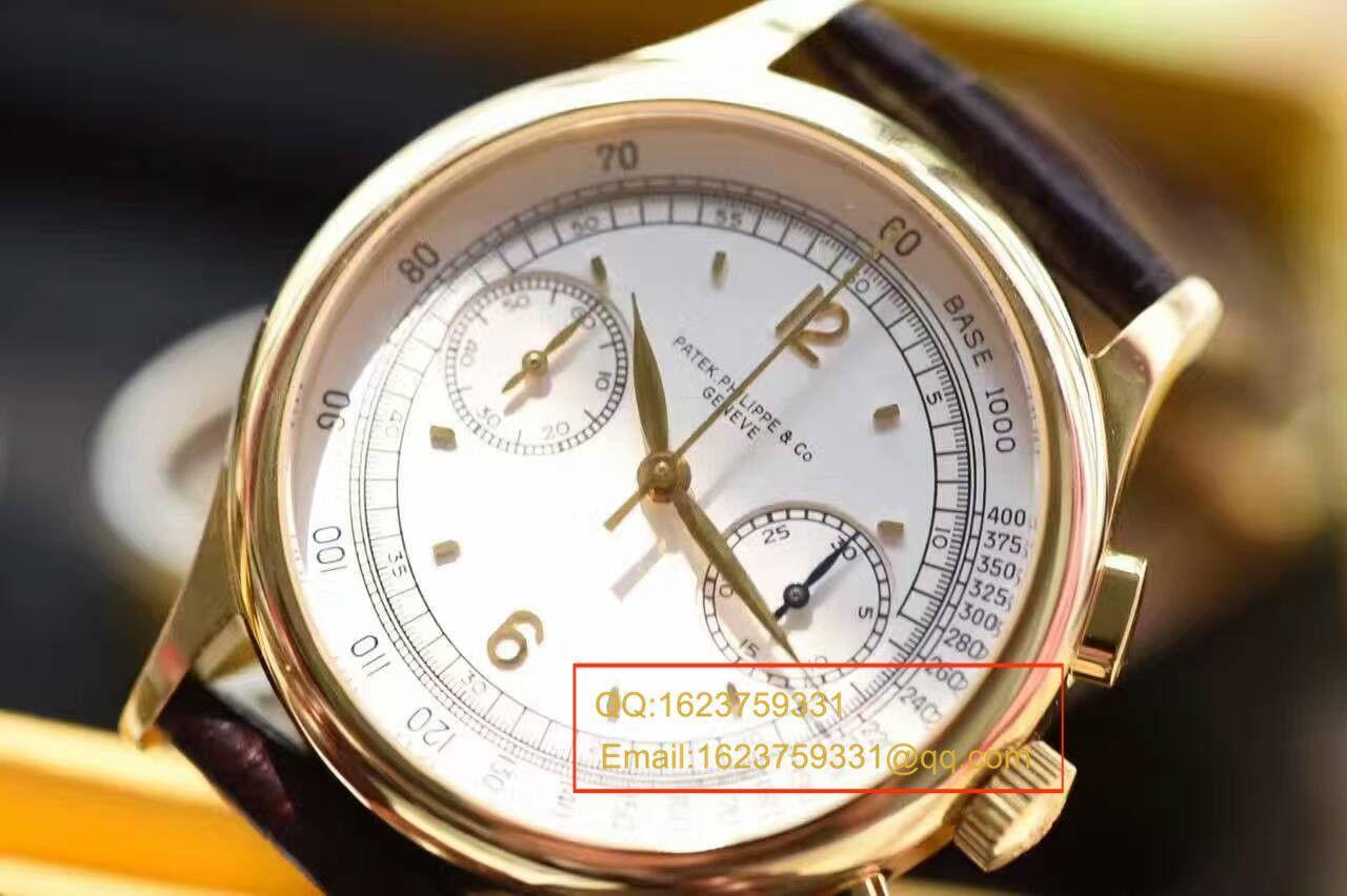 【独家视频测评台湾一比一超A高仿手表】百达翡丽复杂功能计时系列5170J-001腕表 / BDAF164.1