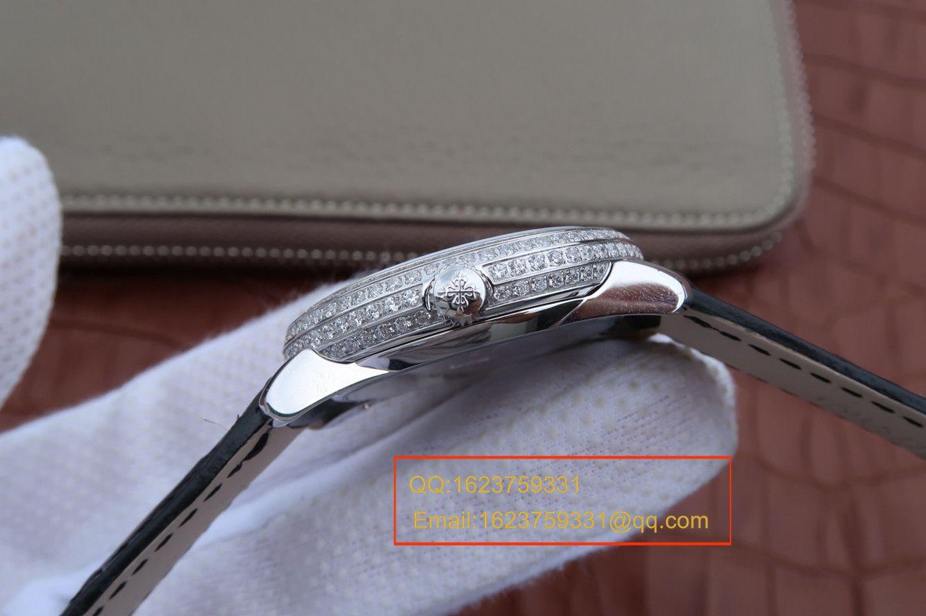 【KG复刻手表】百达翡丽复杂功能计时系列4968G-010女士腕表 / BD211