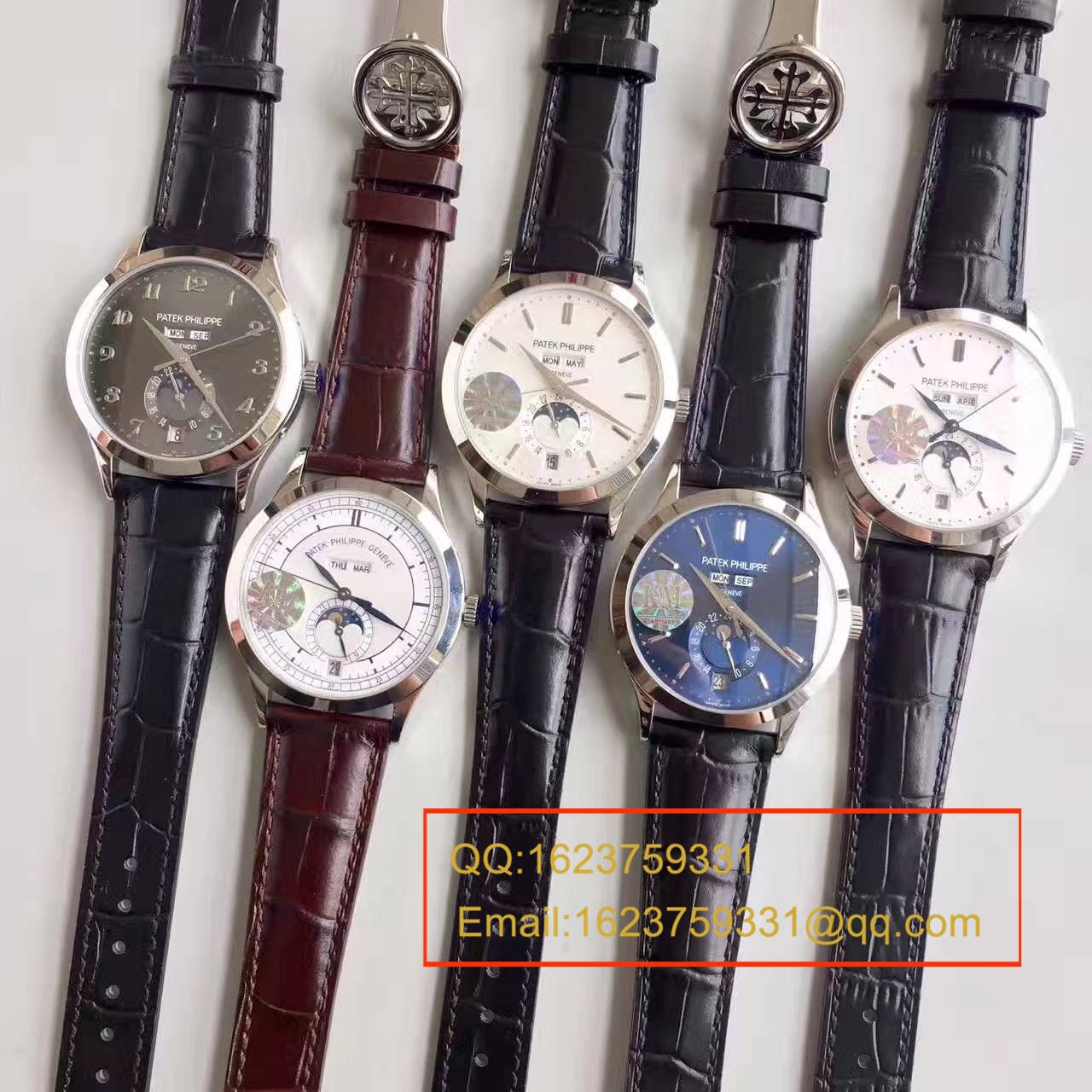 【台湾厂1:1高仿手表】百达翡丽复杂功能计时系列5396G-014男表 / BD173
