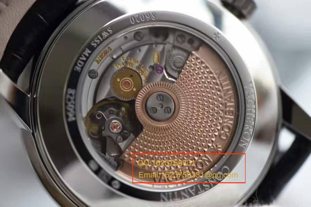 【独家视频测评一比一超A高仿】江诗丹顿Patrimony传承系列日历飞返86020/000G-9508腕表 / JSB0148