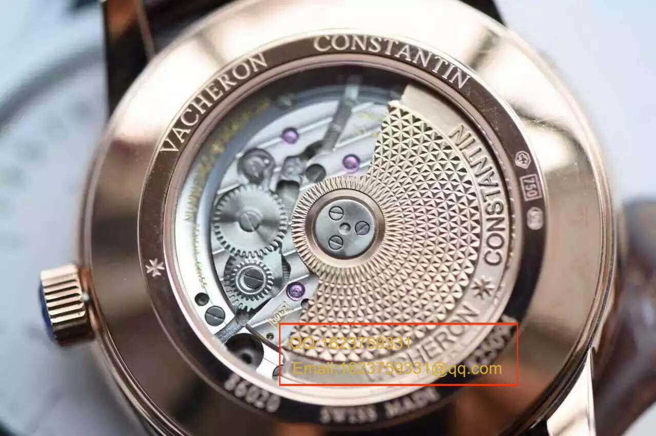 【独家视频测评一比一超A精仿手表】江诗丹顿传承PATRIMONY双飞返 86020/000R-9239腕表