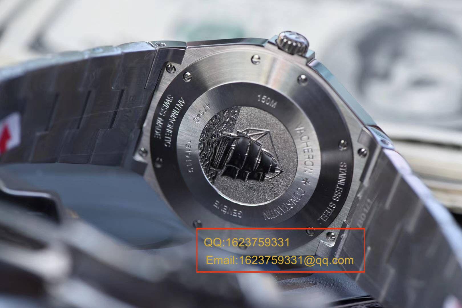 【独家视频评测JJ一比一超A精仿手表】江诗丹顿纵横四海系列47040/B01A-9094腕表