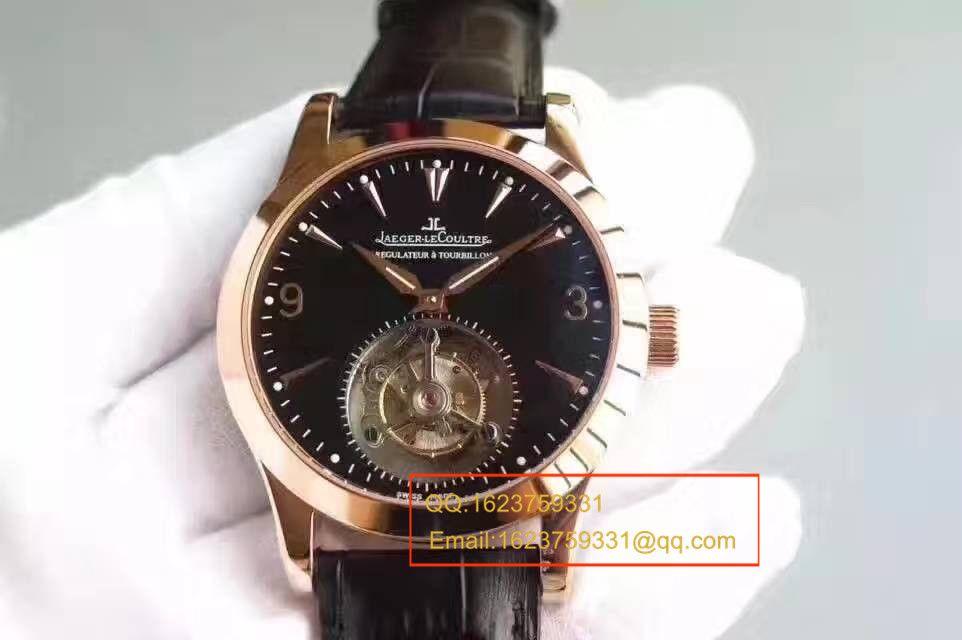 【独家视频测评TF厂顶级复刻手表】积家大师系列经典陀飞轮腕表 / JJCF091