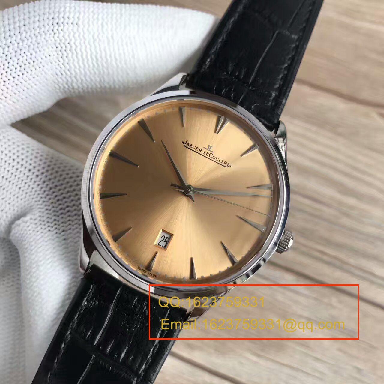 【台湾厂1:1复刻手表】积家超薄日历大师系列Q1288430腕表