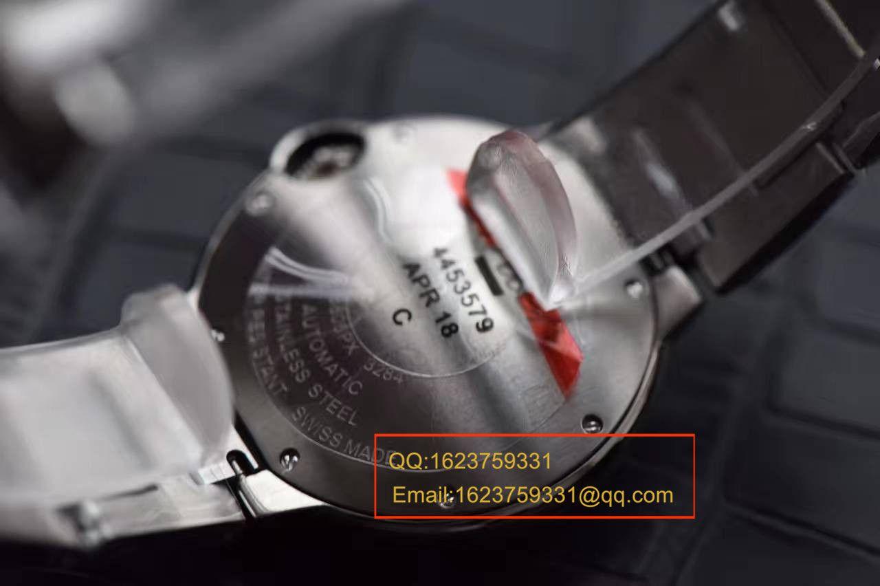【HBBV6厂一比一精仿手表】卡地亚蓝气球36毫米女装天然贝母表面