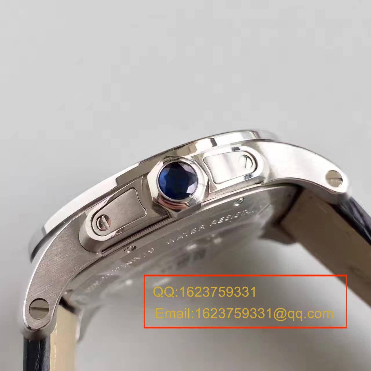 【JF厂顶级1:1复刻手表】卡地亚CALIBRE DE CARTIER系列  W7100041腕表
