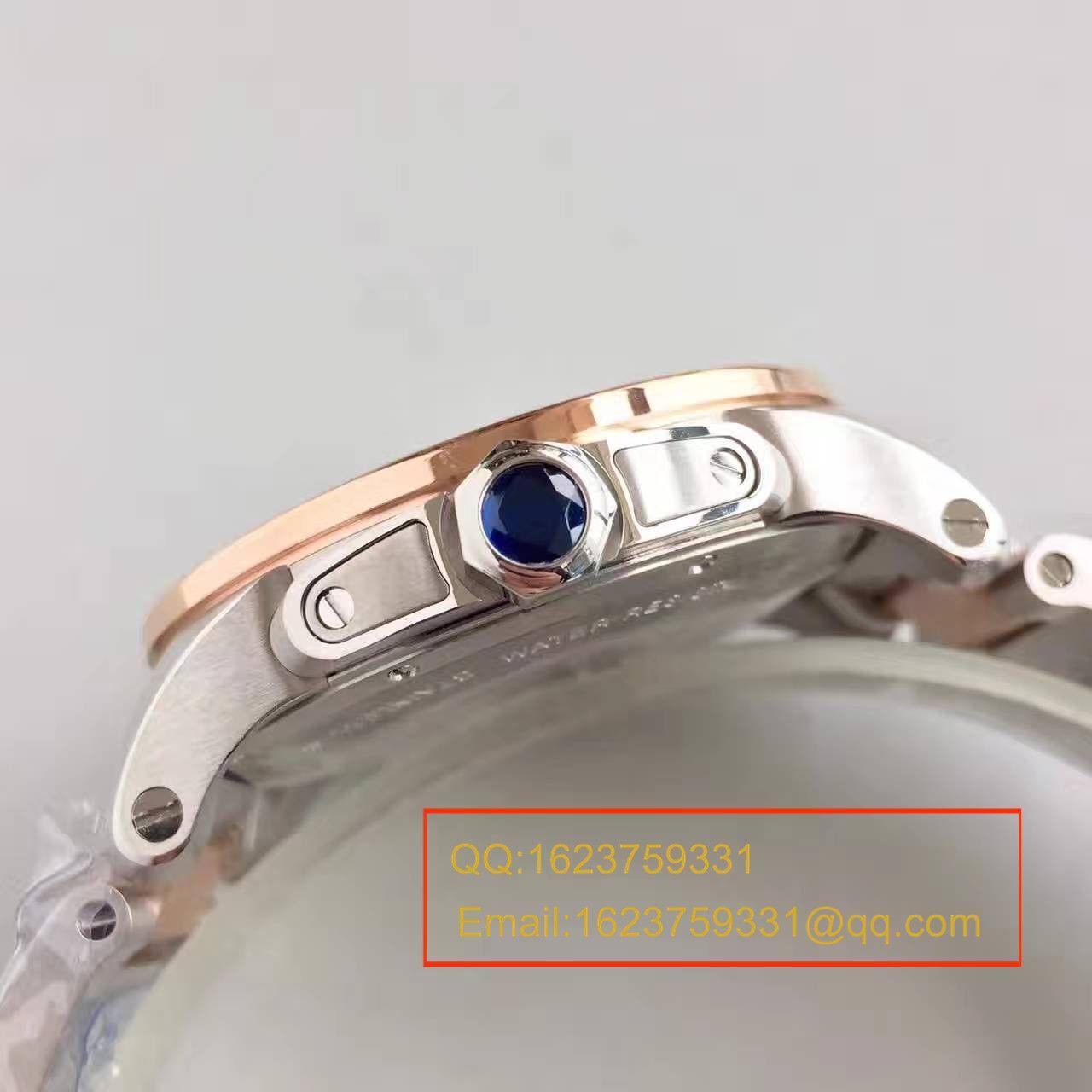 【JF厂顶级复刻手表】卡地亚卡历博 系列W7100036腕表 / KDY012
