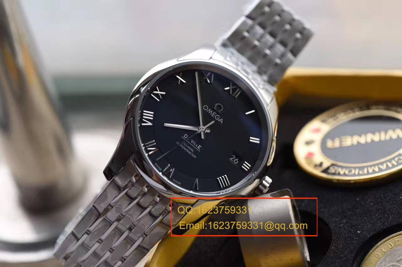 【SSS厂顶级1:1复刻手表】欧米茄碟飞系列431.10.41.21.01.001腕表 黑面