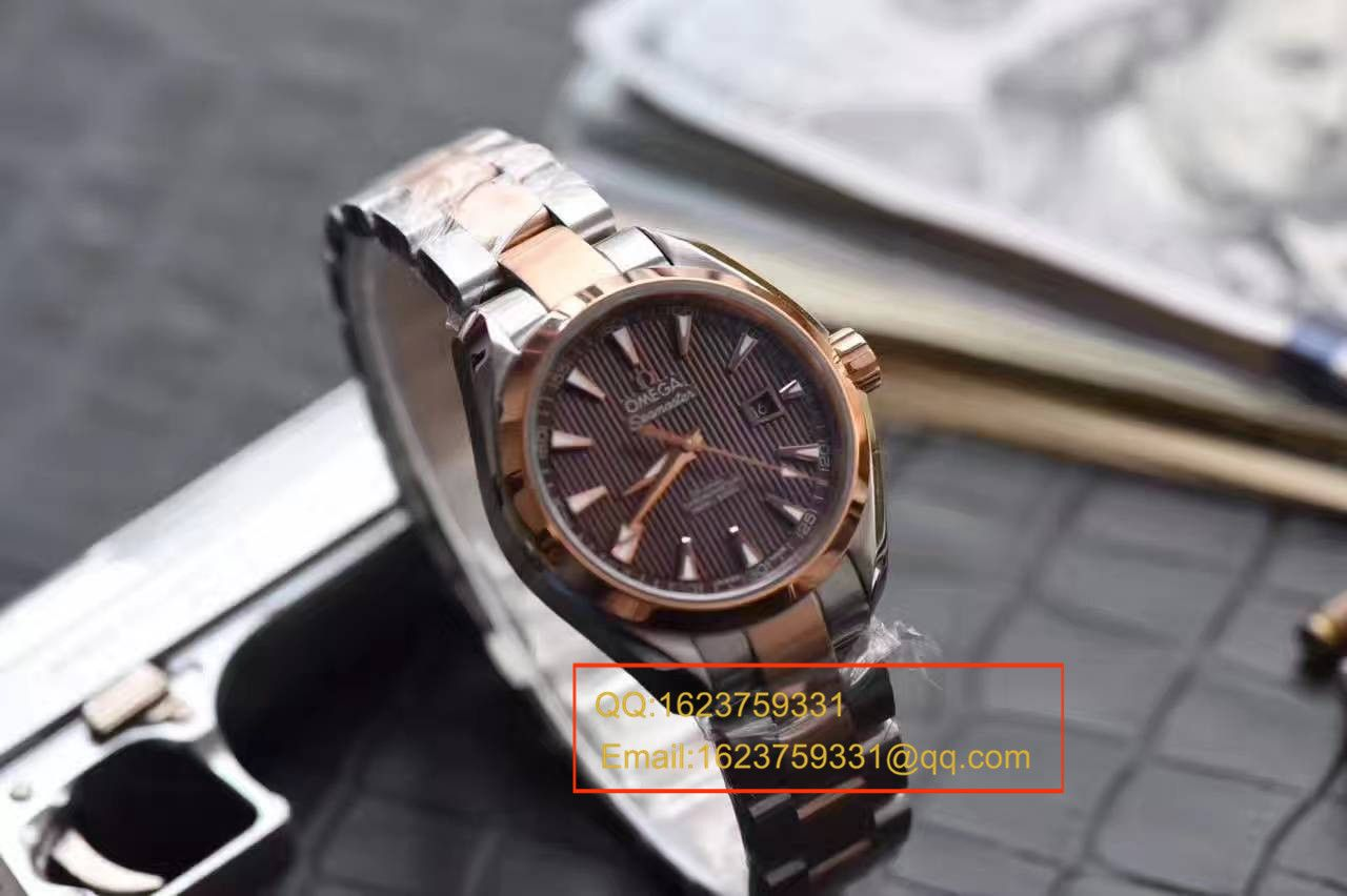 【HBBV6厂一比一超A高仿手表】欧米茄海马系列女装33毫米腕表 / MAH244