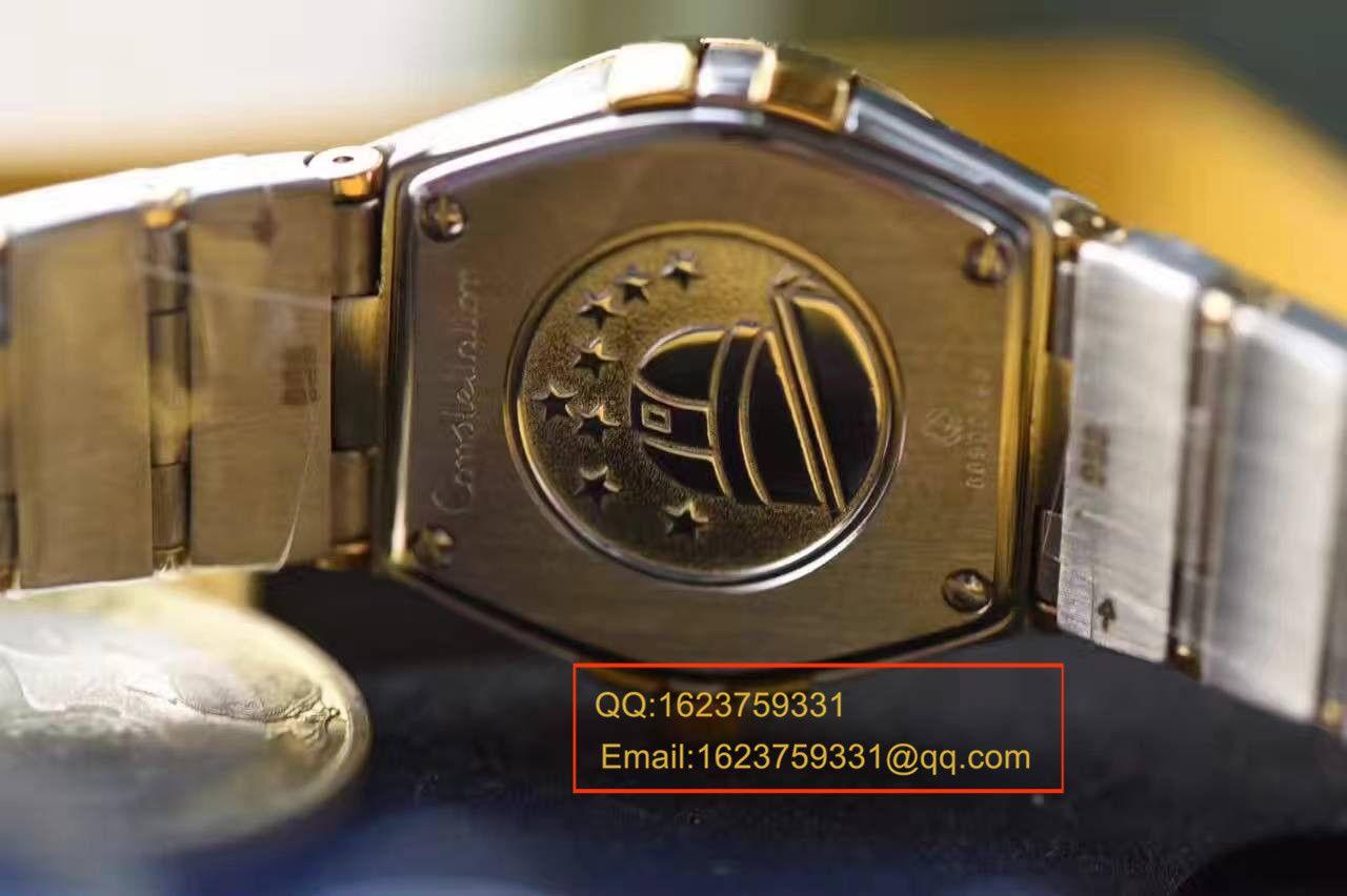【视频解析】KZ台湾厂1:1复刻手表之欧米茄星座女表顶级版本 / M227