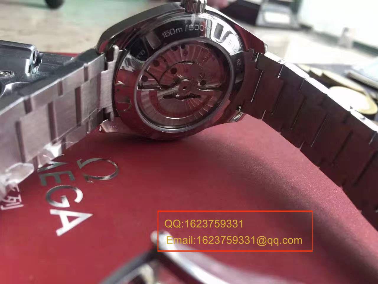 【KW厂顶级1:1高仿手表】欧米茄海马系列231.10.42.21.02.002(金针队长)男表 / M139