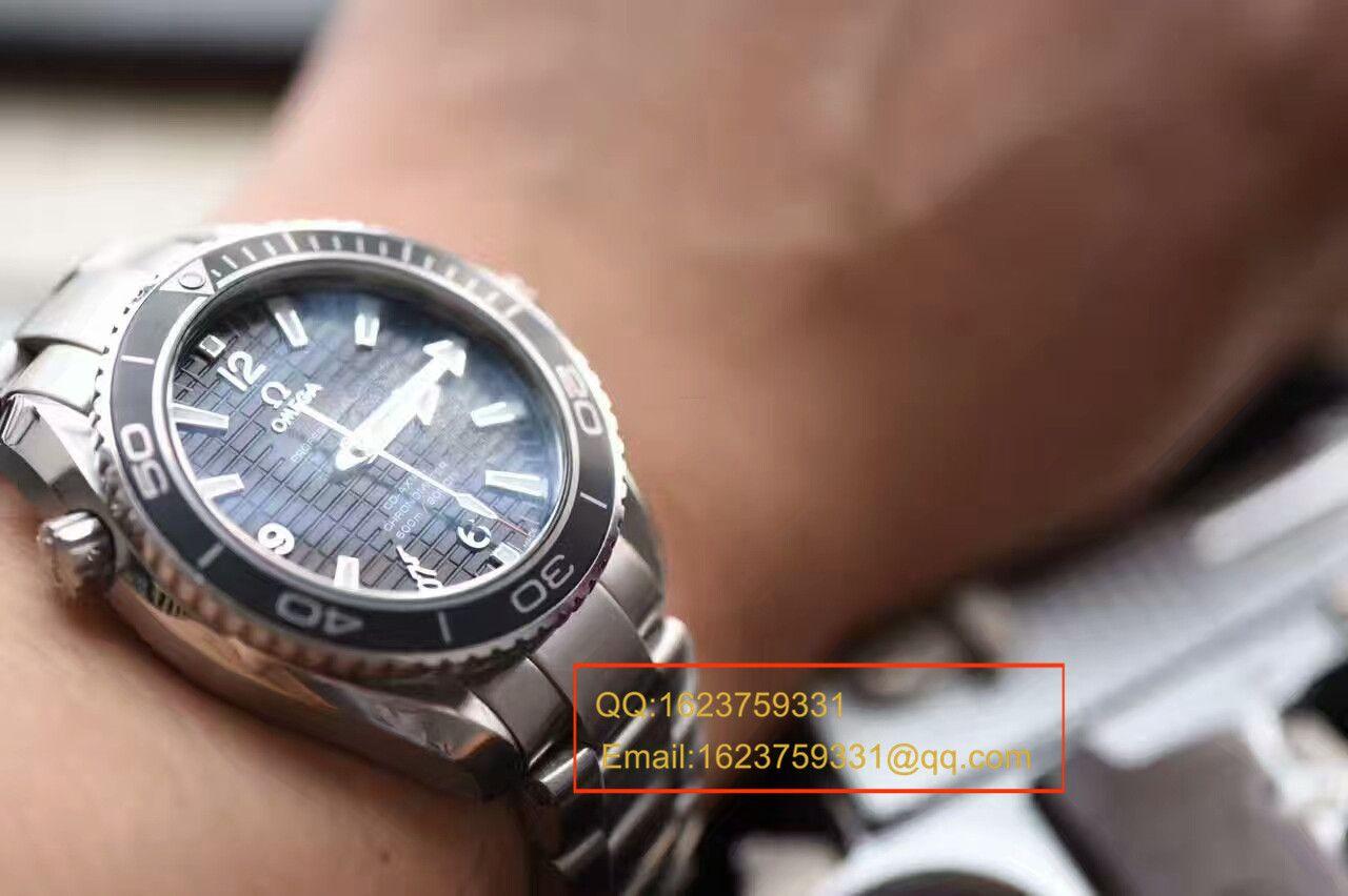 【MK厂1:1超A高仿手表】欧米茄海洋宇宙Skyfall 007特别版男士机械腕表 / MAH210
