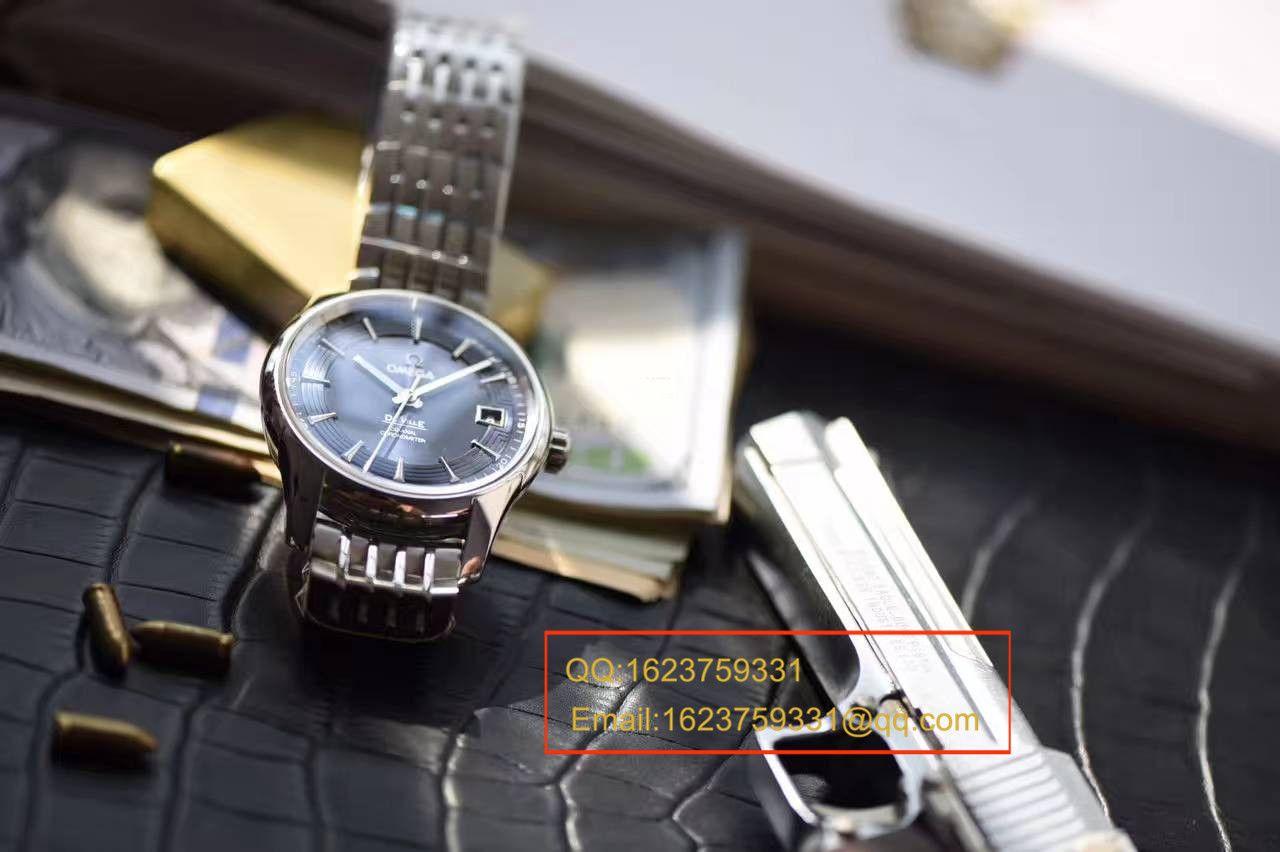 【独家视频评测HBBV6厂1:1超A高仿手表】欧米茄碟飞系列《明亮之蓝》431.33.41.21.03.001腕表