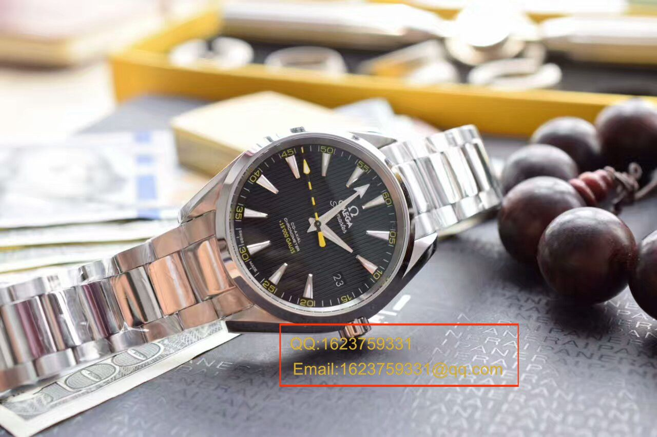 【KW厂超A复刻手表】欧米茄海马 150米系列231.10.42.21.01.002《欧米茄大黄蜂》机械手表 / M138