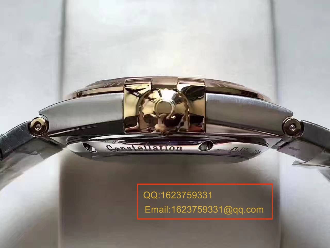 【HBBV6厂一比一超A精仿手表】欧米茄星座系列123.20.38.21.58.001腕表