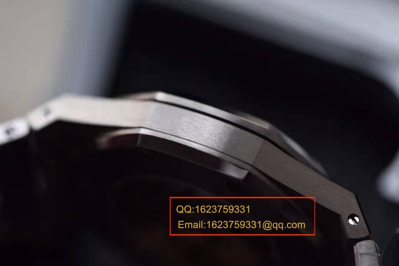 【视频解析】JF厂最高版本爱彼AP皇家橡树15450中性腕表-37MM/41毫米