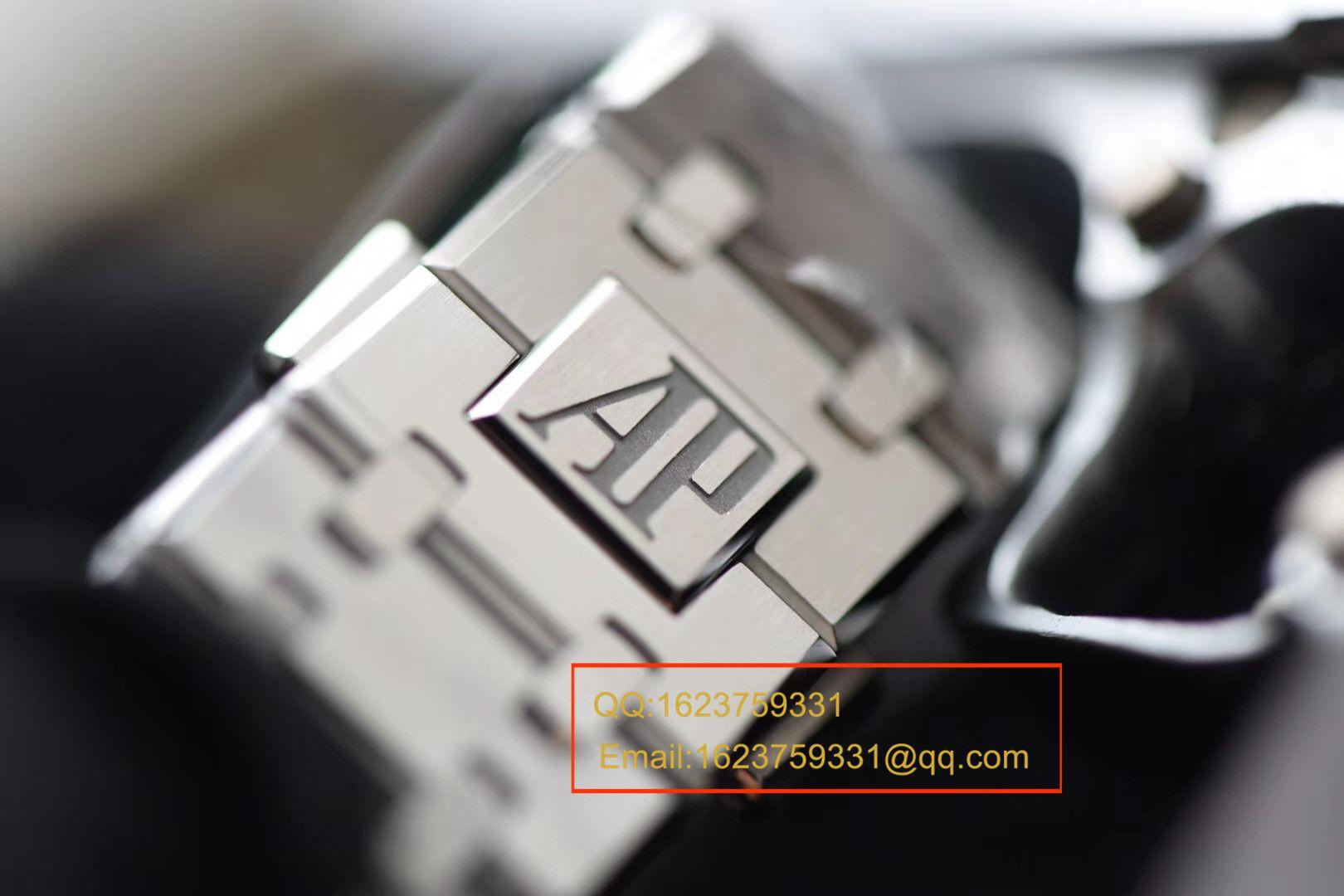 【视频解说】JF厂一比一精仿手表之爱彼皇家橡树系列15400ST.OO.1220ST.02男表 / APBF022B